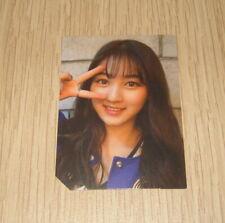 Twice 2nd Mini Album Page Two Blue ver. Jihyo Photo Card Official K POP