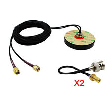 Dual mimo Cellular car 4g Antenna screw Mount LTE Antennas 2pc BNC male cable