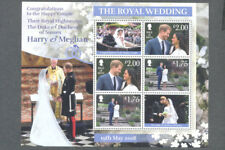 The Royal Wedding-Harry & Meghan min sheet -Isle of Man 2018 mnh-Royalty
