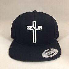 Christian Jesus Cross Snapback Hat Repent Custom Embroidery Cap Glow In The Dark