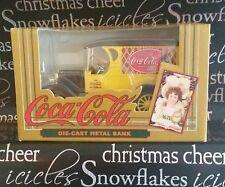 Coca Cola Die-Cast Metal Bank Old Replica Chevrolet Delivery Truck Ertl 1993