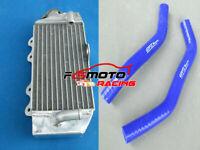 BLUE HOSE + Radiator FOR Yamaha YZ85 YZ 85 85cc 2002-2019 2010 2009 2008 2007 06