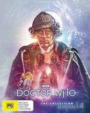 Doctor Who COLLECTION SEASON 14 BLU RAY TOM BAKER LIMITED EDITION - LIKE NEW