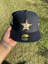 New Era Proper Houston Astros Side Patch Exclusive Fitted Not Hat Club Sz 7 5/8