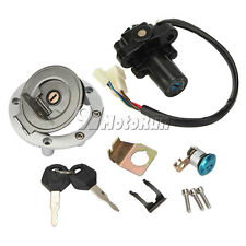 Ignition Switch Key + Fuel Gas Cap For Yamaha YZF R6S 2004 2006-2009 2007 2008
