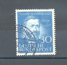 Germany - BRD Phillip Reis Year 1952 used, Phone Service 75th Anniversary