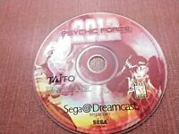 Sega Dreamcast Disc Only Tested Psychic Force 2012 Ships Fast