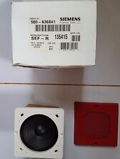 Siemens SEF-R 500-636041 Speaker Audible Fire Safety Device