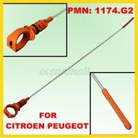 59.3cm Ölpeilstab Ölmessstab Ölmeßstab Ölstab für Citroen/Peugeot 1,6 HDI