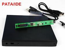 NEW USB 2.0 External Enclosure case FOR 12.7mm IDE/PATA DVD CD blu-ray Drive
