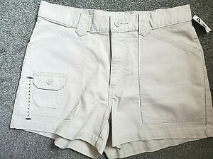 Women's Old Navy New Beige Cargo Style Cotton Shorts Size 4