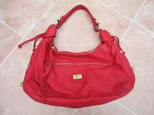 Marc Chantal - NWOT - Womens Large Red Faux Leather Hobo Shoulder Bag