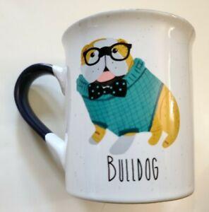 English Bulldog Sweater Novelty Coffee Mug Dishwasher Microwave Anthropomorphic