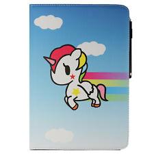 Funda tablet estuche bolsa para alcatel 1t 10 10.1 360 2 unicornio