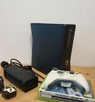 Xbox 360 S 250GB Console Bundle 3 Games matt Black forza mas effect need 4 speed