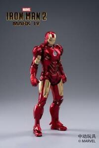 ZD Toys Marvel Avengers Iron Man MK4 Mark IV Licensed 7″ Action Figure