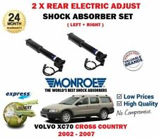 FOR VOLVO XC70 CROSS COUNTRY 2002-> 2X REAR ELECTRIC ADJUST SHOCK ABSORBER SET