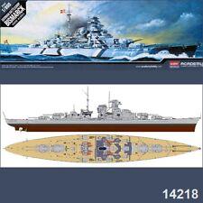 Academy Model Kit 1/800 Scale German Battleship Bismarck 14218