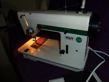 vom Nähmaschinen-Mechaniker empfohlen PFAFF 284 auch für Anfänger geeignet