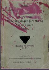 H.Dv.325 Kassen-und Rechnungslegungsordnung für das Heer, Berlin 1936
