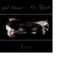 PAUL DIANNO - THE BEAST LIVE! ** CD ORIGINALE USATO
