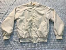 Vintage GTE Telephone Company The Everything Pages Auburn White Large Jacket USA