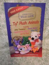 "mb-122 TY Beanie Babies bk: ""Collector's Value Guide; TY Plush Animals"" 1988"