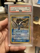 Pokemon Gold Star Suicune PSA 9 115/115 EX Unseen Forces