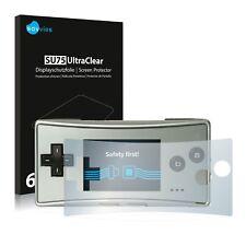 6x Film Protection écran pour Nintendo Gameboy Micro Protecteur