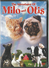 THE ADVENTURES OF MILO AND OTIS DVD NEW SEALED RARE OOP