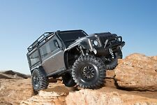 Traxxas TRX-4 Rock TRX4 Scale Trail Crawler Land Rover Defender GREY TRA82056-4