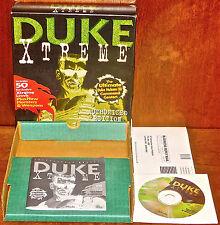 Duke Extreme Authorized edition Duke Nukem shooter Big Box PC COMPLETE IN BOX