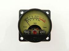 Iluminado Mini VU-metro Para Válvula De Amplificadores El34, 6l6 preamplificadores Back Lit sd39