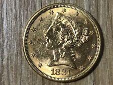 5 Dollaro 1881 Stati Uniti Oro #145#