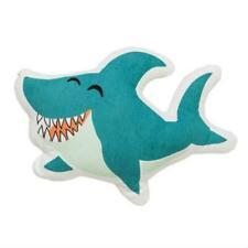 Shark Pillow, Blue