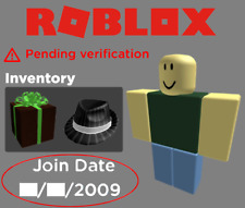 RARE UNVERIFIED 2009 ROBLOX ACCOUNT /W PERFECTLY LEGITIMATE BUSINESS HAT (5K)