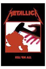 METALLICA Textile poster fabric flag KILL EM ALL