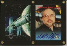 Babylon 5 Premiere B5 Auto Autograph J Michael Straczynski