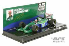 Jordan Ford 191 Michael Schumacher Debüt Formel 1 Belgien 1991  1:43  Minichamps