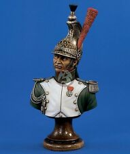 Verlinden 200mm (1/9) Officer from Dragoon Division Bust (Napoleonic era) 1482