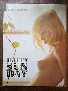 KARL DE HAAN HAPPY SUNDAY 1970 1ST EDITION IN FINE DUST JACKET