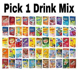 Singles To Go Sugar Free Drink Mix Pick 1: Crush, Hawaiian Punch, Tang & More