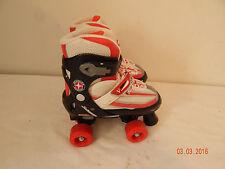 Schwinn Youth roller skates Red white Black Adjustable size 1-4 Boys Girls