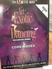 Art of Exotic Dancing Vol 1 and 2 Set Dvd Core Moves Instructional Routines