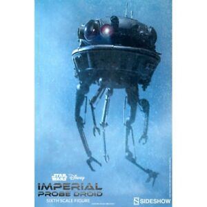 1/6 Scale Star Wars ESB Sideshow Imperial Probe Droid - Used