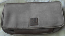 HUGO BOSS ORANGE FEMALE CLUTCH BAG SATIN BRONZE GOLD