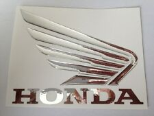 honda tank logo decal, label, sticker 3D mirror