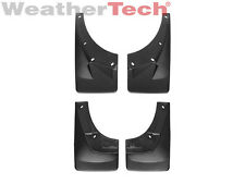WeatherTech No-Drill MudFlaps for Chevy Avalanche 2007-2013 Full Set Black