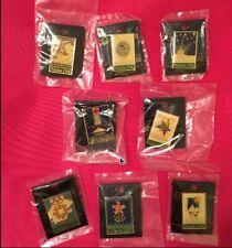 Lot/ Set of 8 Olympic Pin Badge~Poster Pin~1996 Atlanta~NEW on CARD~20 yr old!!!