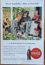 1940's Original Coca-Cola Magazine Ad Coke Graduation Matson Line Cruises
